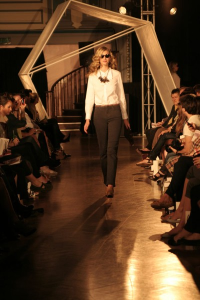 there is nothing quite so mortifying as your outfit walking down the runway...